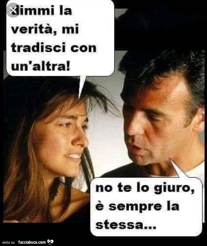 La sincerità è tutto....… vaccata pubblicata da RENatino - Facciabuco.com