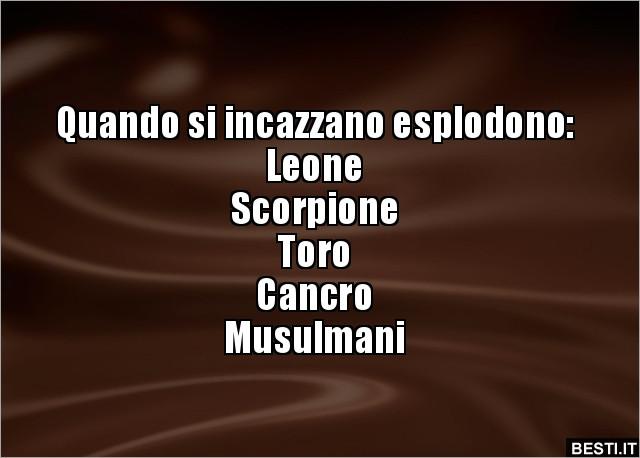 musulmano dating Scorpione