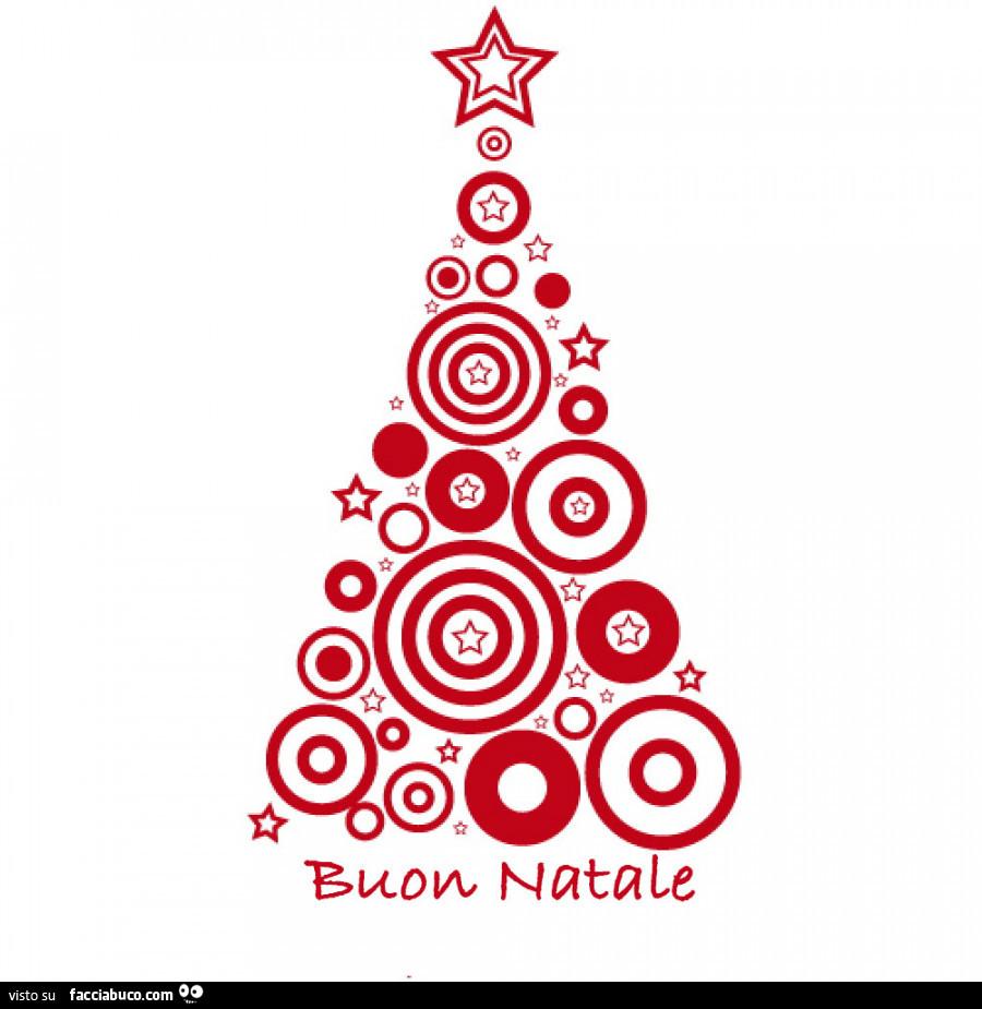 Albero Di Natale Auguri.Albero Di Natale Stilizzato Buon Natale Facciabuco Com