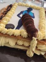 Decorazione del pene torta