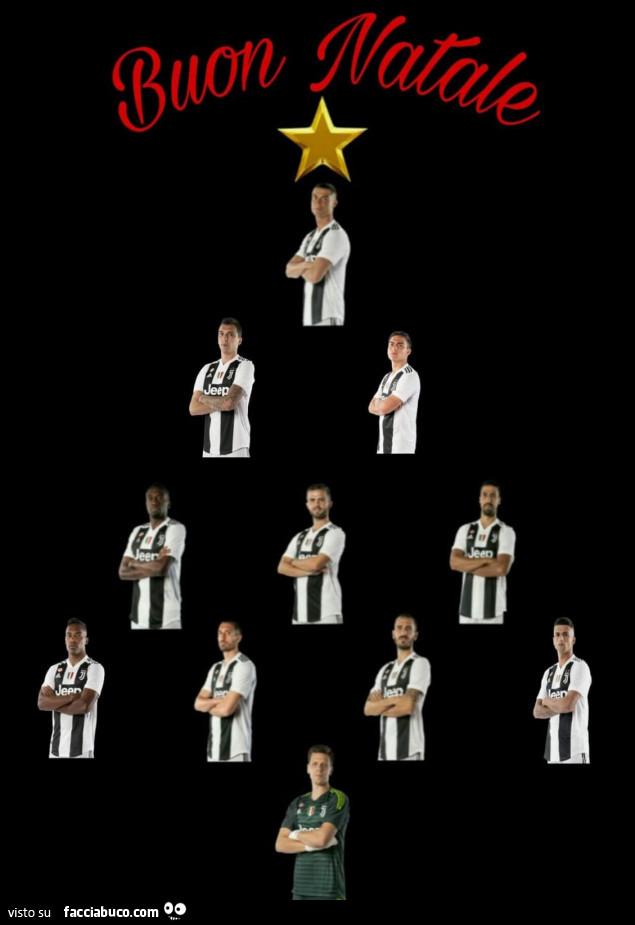 Juventus Buon Natale.Buon Natale Formazione Juve Facciabuco Com